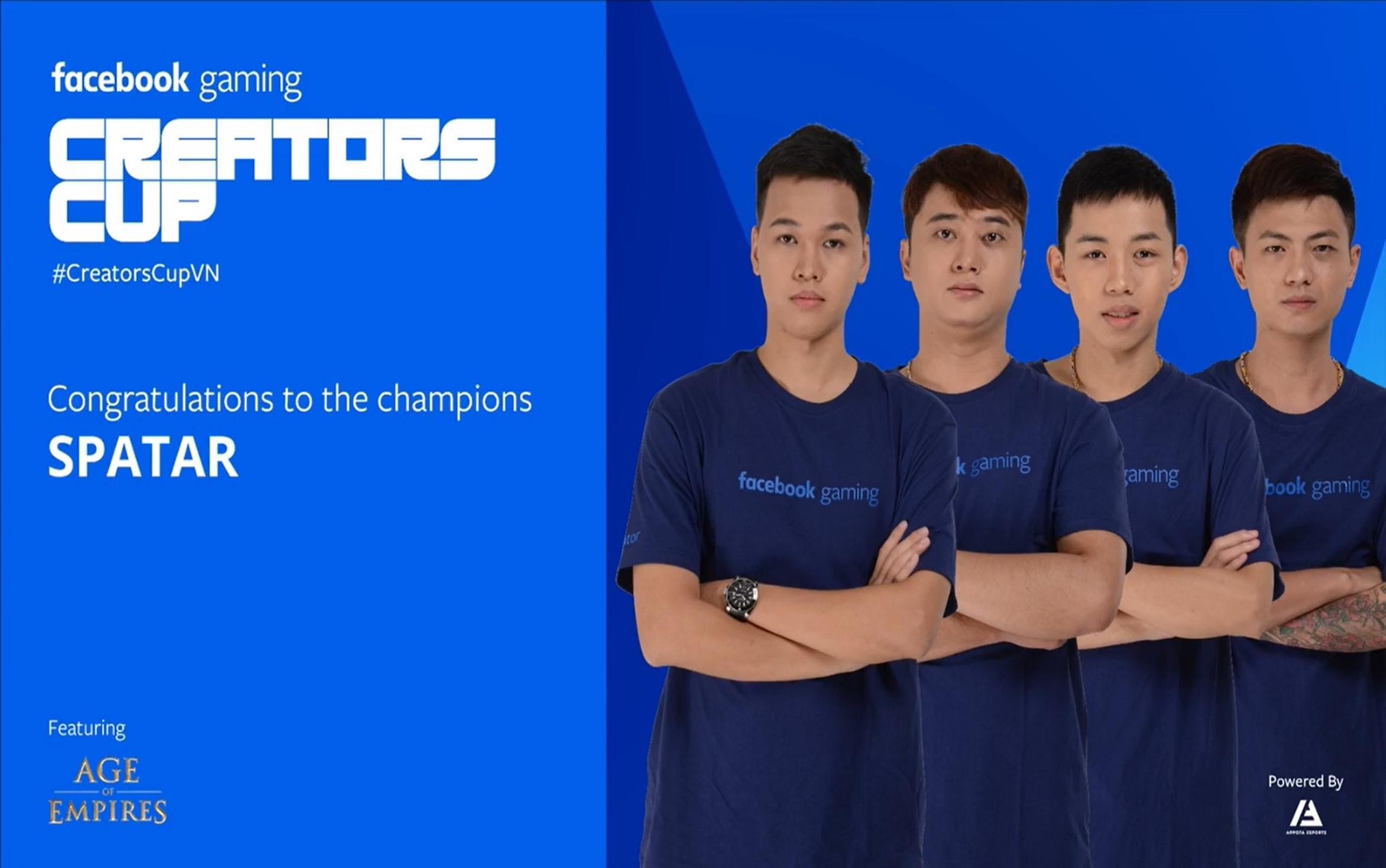Sparta lên ngôi vô địch AoE Facebook Gaming Creators Cup 2019: Đường dài mới biết ngựa hay