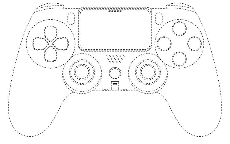 Rò rỉ bản thiết kế chiếc tay cầm PlayStation mới của Sony