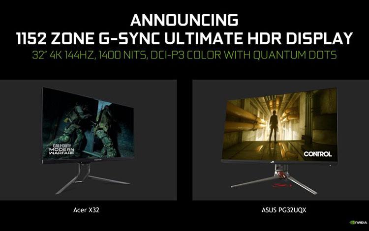 NVIDIA đem tới CES 2020 hàng loạt màn hình cực kỳ hiện đại
