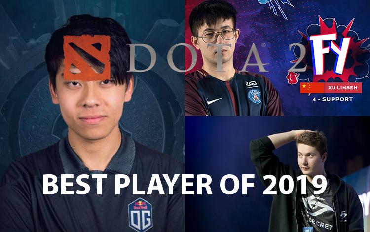 Những game thủ DotA 2 kiệt xuất của năm 2019