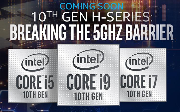 """Intel công bố dòng CPU thế hệ thứ 10 cực """"xịn"""" dành cho Laptop Gaming"""