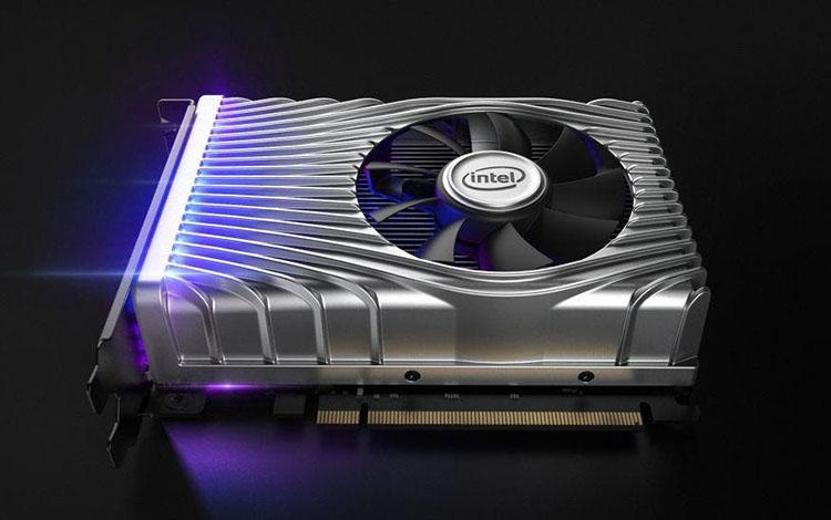 Hình ảnh đầu tiên về chiếc card màn hình của Intel