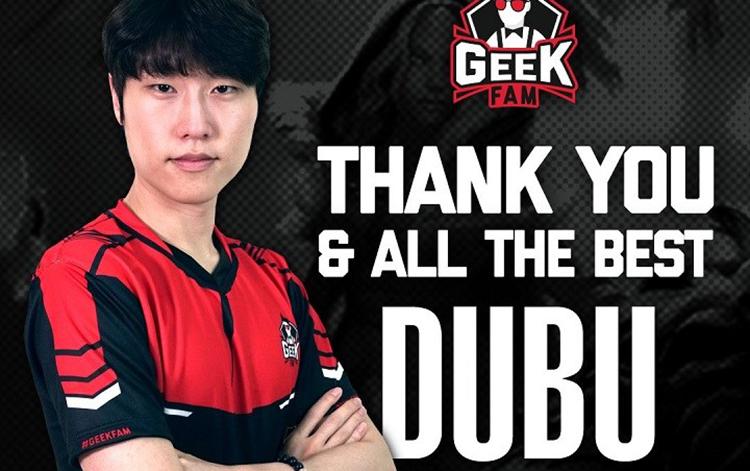 GeekFam chia tay với đội trưởng người Hàn Quốc