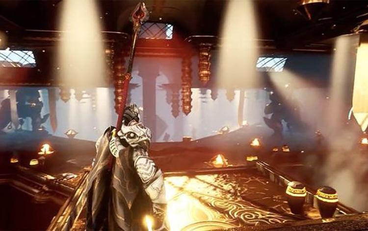 Godfall tung trailer xác nhận gameplay từng được leak ra là chính xác