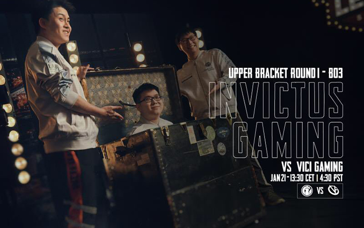 Vòng playoff Leipzig Major: iG vs Vici Gaming - Nội chiến Thiên triều