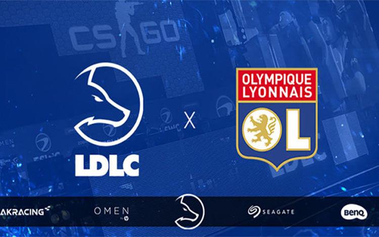 CLB Olympique Lyonnais lấn sân vào mảng Esport bằng bản hợp đồng tài trợ khủng với team LDLC