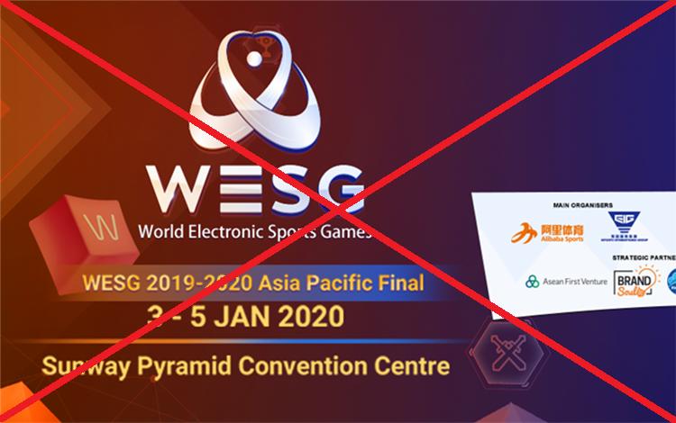 Sự cố bất ngờ ập đến với giải đấu Dota 2 đầu tiên của năm mới - WESG APAC