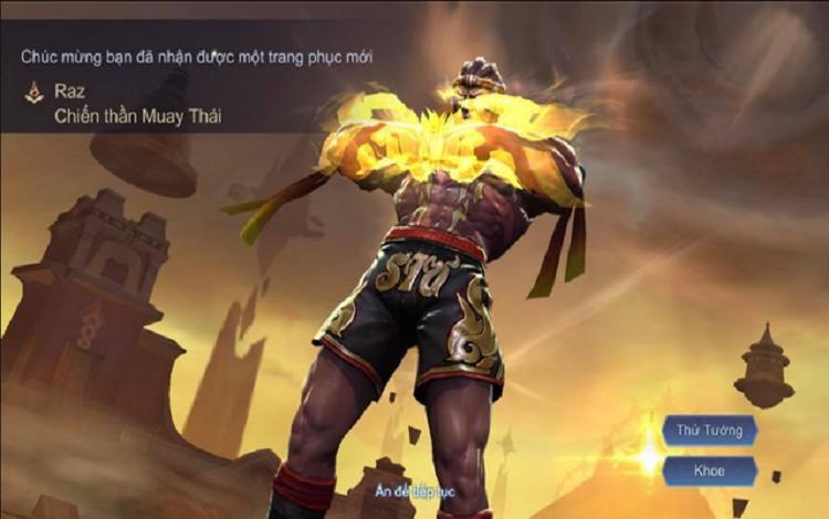 Game thủ được nhận free skin SS với giá một quân huy