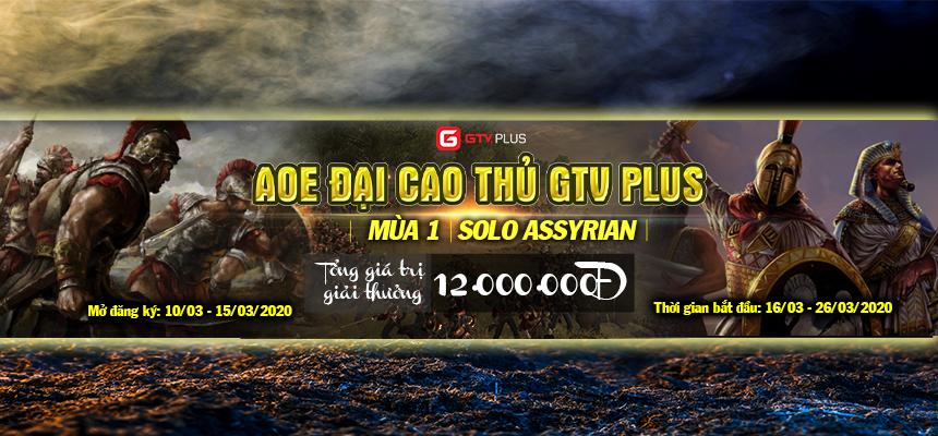 Mở cổng đăng ký giải đấu AoE Đại Cao Thủ GTV Plus Mùa 1