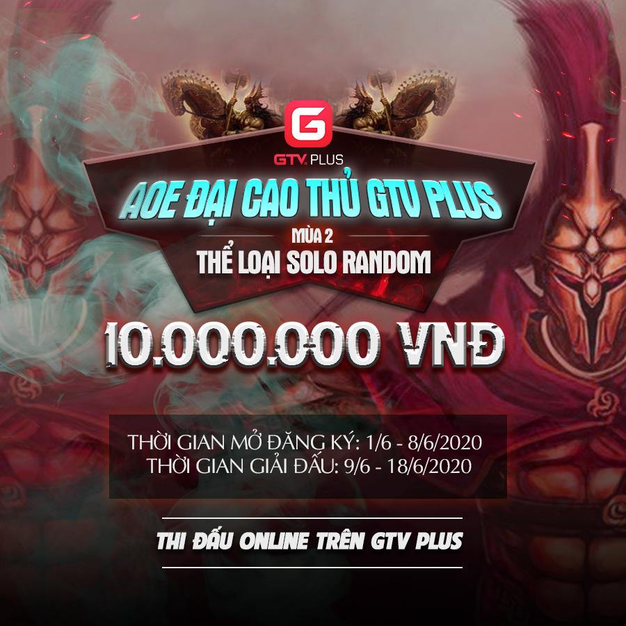 AOE ĐẠI CAO THỦ GTV PLUS MÙA 2