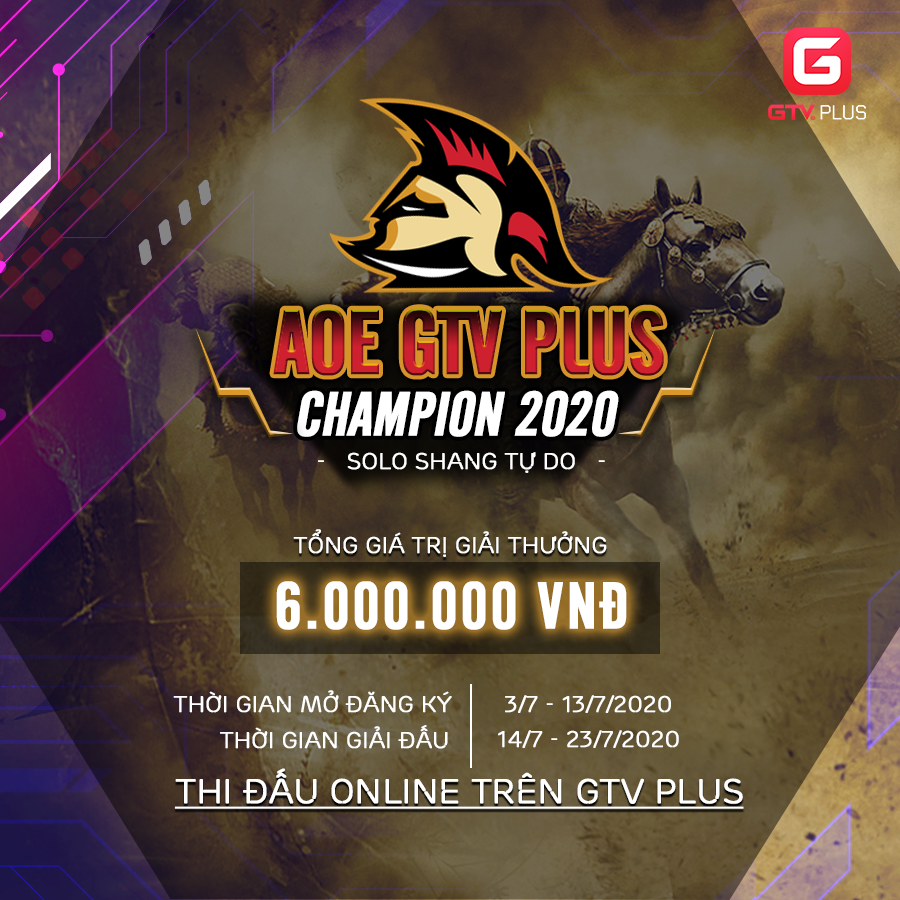 AOE GTV PLUS CHAMPION 2020
