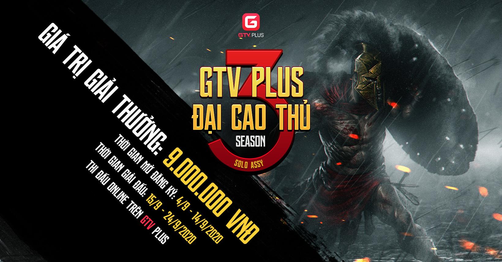 ĐẠI CAO THỦ GTV PLUS MÙA 3