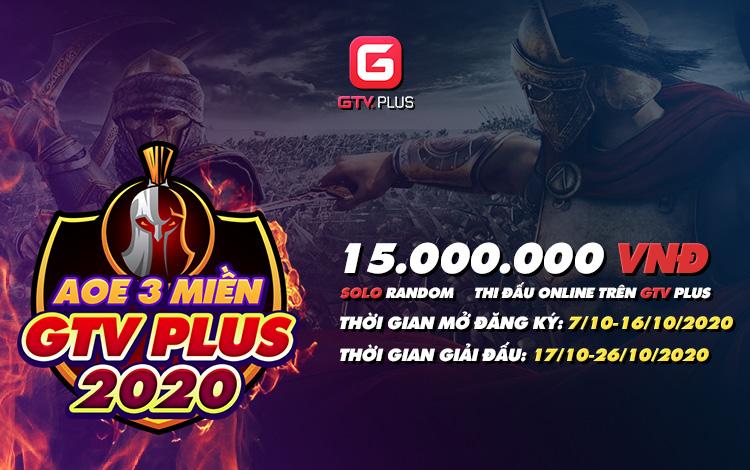 Chính thức mở cổng đăng ký giải đấu AOE 3 miền GTV Plus 2020