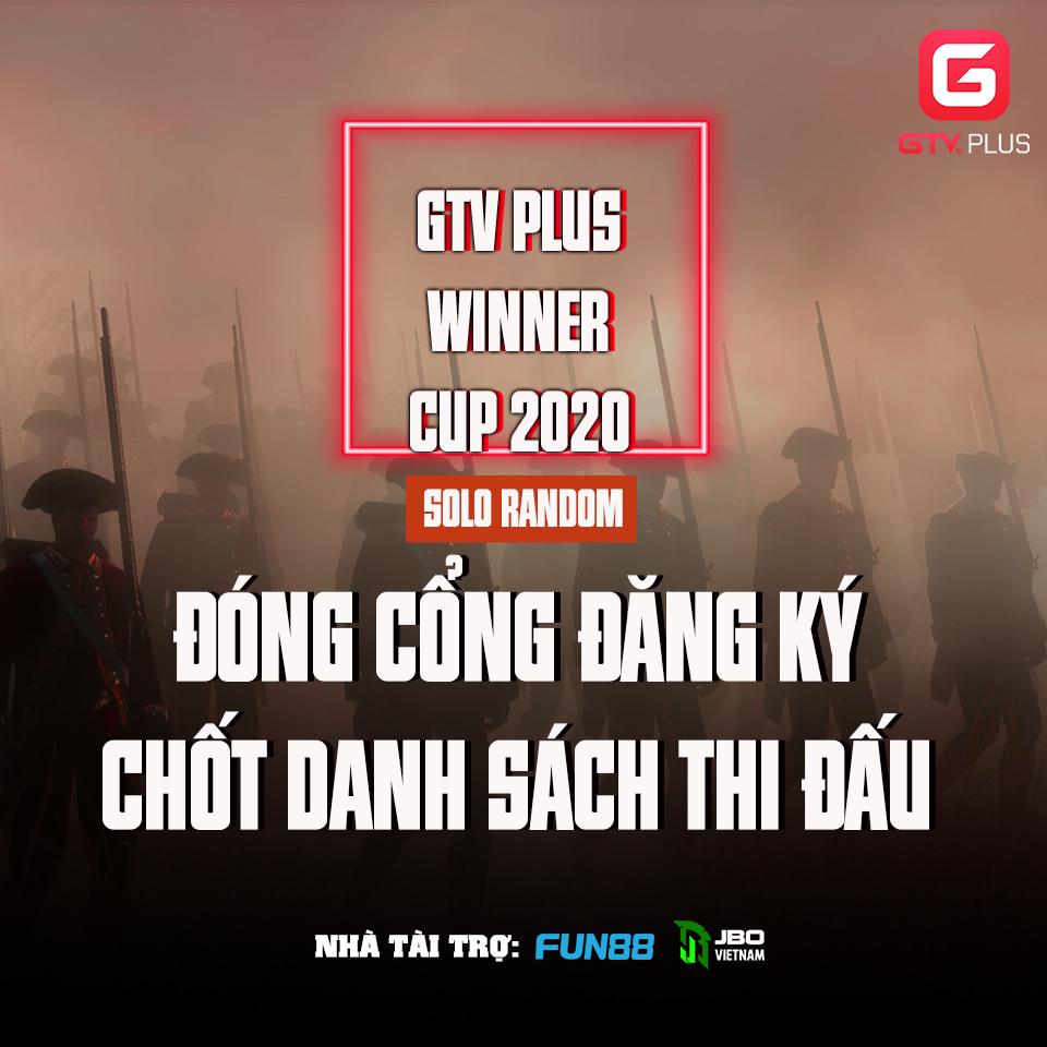 GTV Plus Winners Cup 2020 chính thức thi đấu